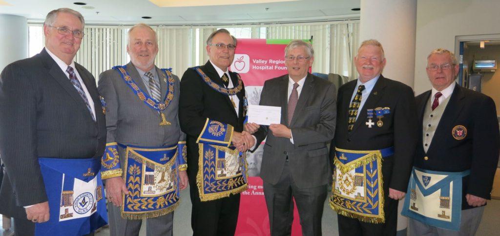Masonic Foundation Donation